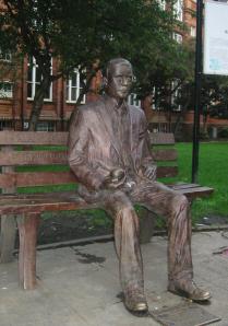 Minnesmerke over Alan Turing i Manchester