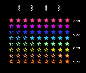 Illustrasjon av uendelig mange fotballag med uendelig mange spillere 2