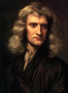 Sir Isaac Newton i 1689