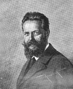 Heinrich Bruns i 1908