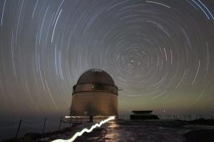 Nordisk Optisk Teleskop på La Palma. Foto: JRK.