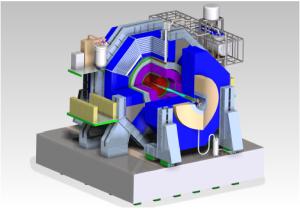 SiD, et av de to planlagte partikkelkameraene ved ILC. (Kilde: ILC Technical Design Report)
