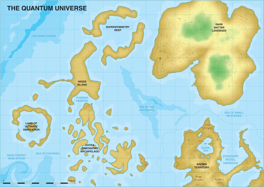 Hvordan ser naturen ut utenfor vårt kjente kontinent av forståelse? ILC er kaptein på skuta som skal ta oss ut.