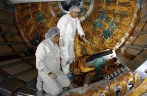 Det treng mykje høgteknologi for å finne nye partiklar. Foto: CERN.
