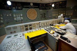 Et av kontrollrommene i Beloyarsk-kraftverket.