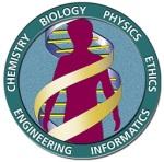 Logoen til Human Genome Project - et godt eksempel på den typen tverrfaglig topp-prosjekt som et AL kan gi startskudd til.