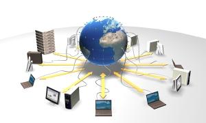 Worldwide LHC Computing Grid blir flittig brukt også i perioden uten ny data. [Credit CERN]